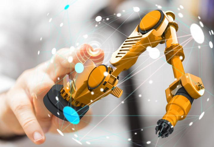 APX systems delivered raw material reception, robot control, package
