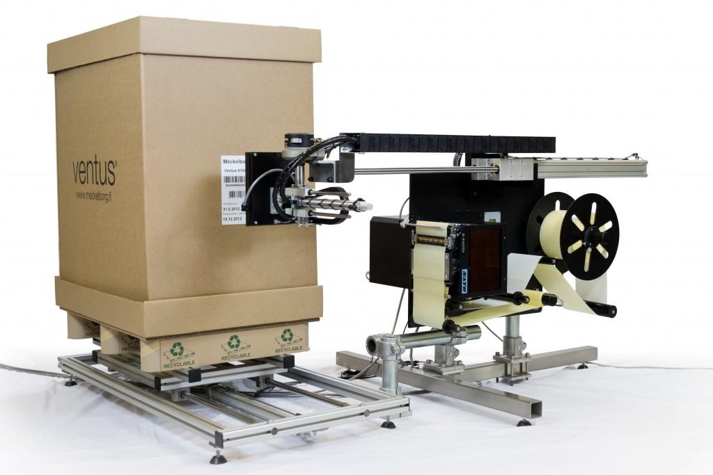 APX systems ny importør av merkemaskiner fra Klinger Meckelborg