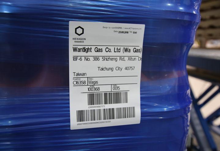 Ragasco med RFID i lagerlogistikk